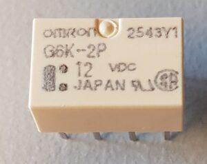 G6K-2p omron relais