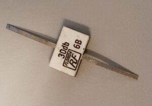 30 dB vermogensverzwakker
