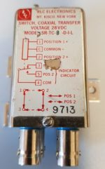 coaxrelais RLC electronics