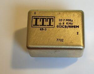 kristalfilter 10,7 MHz